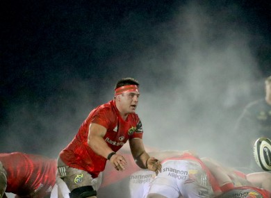 Munster and Ireland back row CJ Stander.