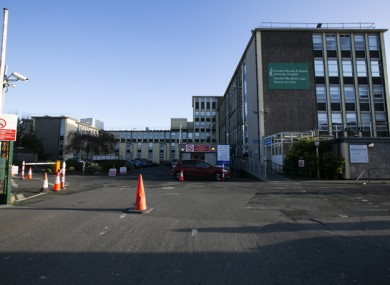 File image of the Coombe Hospital in Dublin