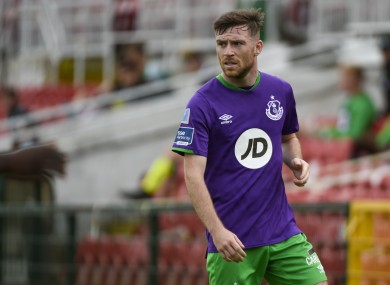 Jack Byrne during his Shamrock Rovers days.