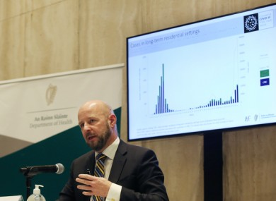 Philip Nolan, Chair of the NPHET Irish Epidemiological Modelling Advisory Group