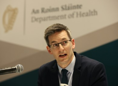 Deputy chief medical officer, Dr Ronan Glynn.