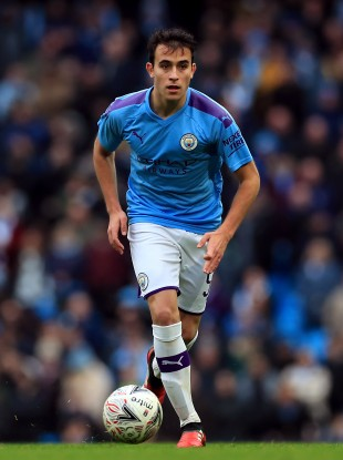 Manchester City's Eric Garcia (file pic).