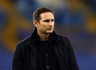 Frank Lampard was recently dismissed as Chelsea boss.