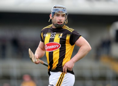 Ger Aylward in action for Kilkenny last year.