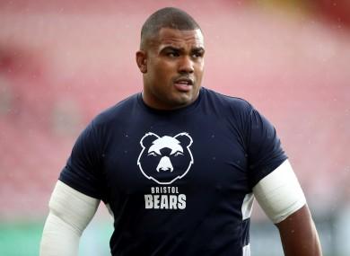 File photo of Bristol Bears' Kyle Sinckler.
