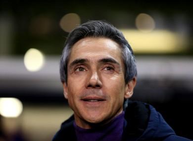 Paulo Sousa (file pic).