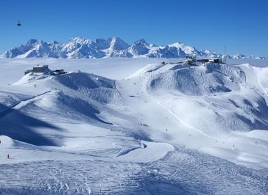 File photo - Swiss mountains