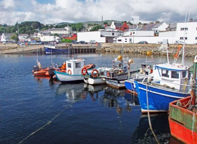 Fishing trawlers at Killybegs Harbour Co. Donegal