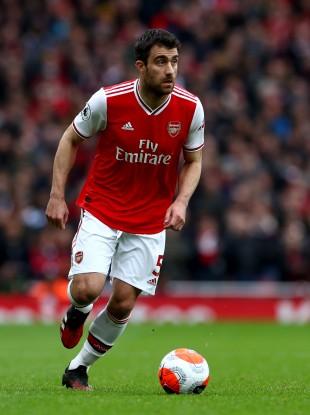 Arsenal's Sokratis Papastathopoulos.