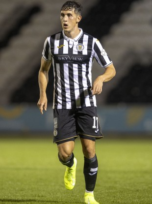 Jamie McGrath has nine goals in 30 appearances for St Mirren.