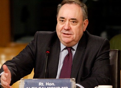 Alex Salmond (file photo)