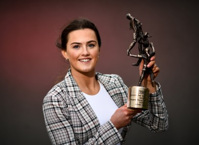 A special night for Armagh star Aimee Mackin.