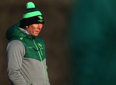 Connacht head coach Andy Friend.
