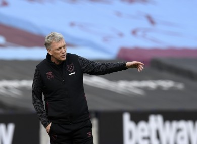 David Moyes has guided West Ham to fourth in the Premier League.