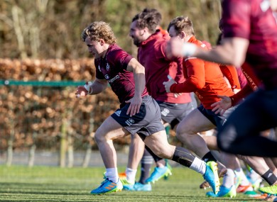 Craig Casey is one of eight players to agree to a new contract with Munster.