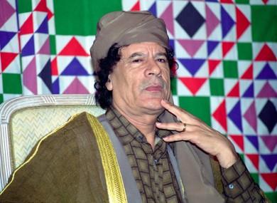 Gaddafi was killed following the uprising 10 years ago.