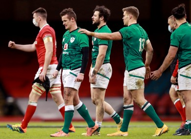 Ireland came up short in Cardiff.