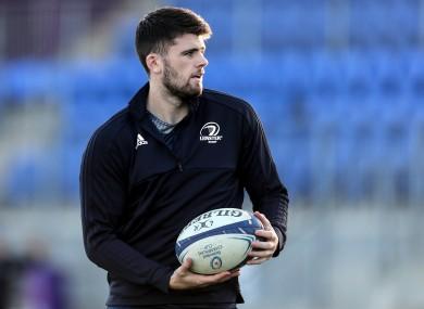 Leinster out-half Harry Byrne.