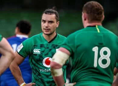 Ireland were left dejected last weekend against France.