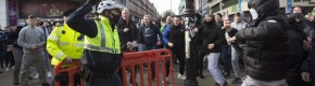 Major Garda operation in Dublin city centre after clashes at anti-lockdown protest