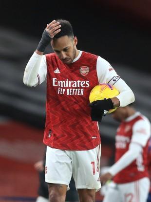 Arsenal's Pierre-Emerick Aubameyang (file pic).