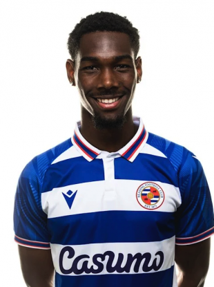 Reading striker Nahum Melvin-Lambert.