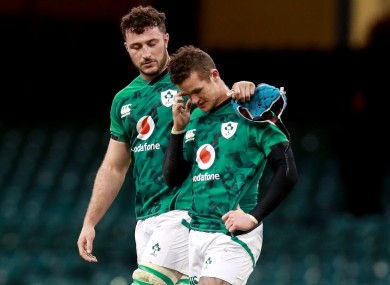 Will Connors consoles Billy Burns.