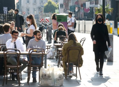 The Tánaiste told TheJournal.ie this week that local authorities should support businesses, stating outdoor dining is more safe than indoor.