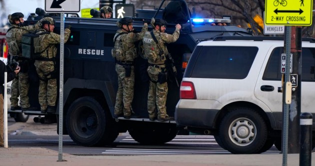 Man (21) charged with murder after ten killed in Colorado supermarket shooting