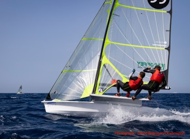 It was a good day for the Irish sailing team in Lanzarote.