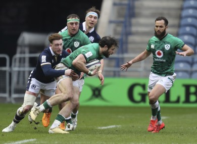 Robbie Henshaw had another strong outing in Edinburgh.