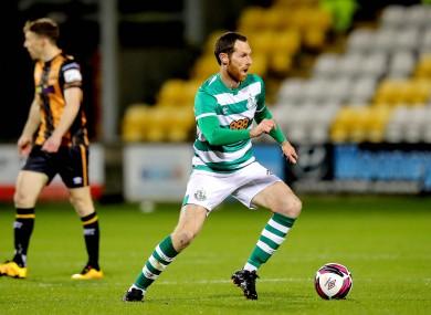 Shamrock Rovers' Chris McCann (file pic).