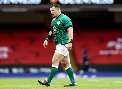 One more year: Cian Healy.