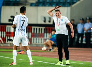 Dragan Stojkovic, pictured during his previous role as manager of Guangzhou R&F in the Chinese Super League.