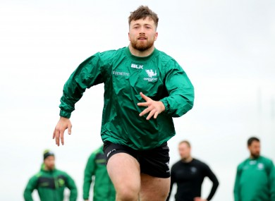 Tierney-Martin is set for his debut tomorrow night.