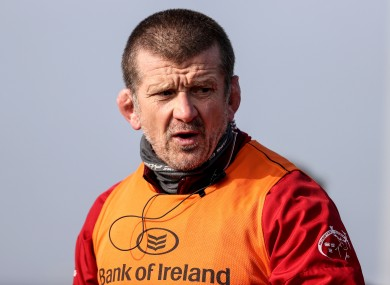 Munster forwards coach Graham Rowntree.