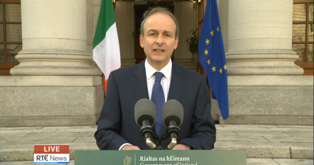 As it happened: Taoiseach addresses nation as Cabinet signs off on 'cautious' easing of Covid restrictions