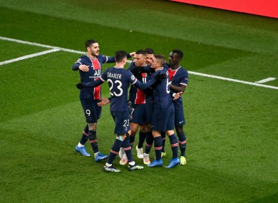 PSG march on.