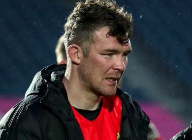O'Mahony in the aftermath of the loss to Leinster.