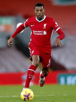 Liverpool's Georginio Wijnaldum.