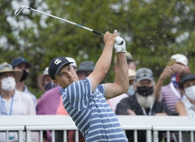 Jordan Spieth at the Dell Technologies Match Play Championship last weekend.