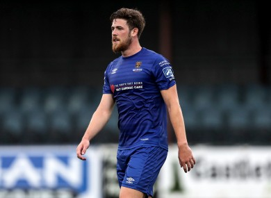 Sam Bone previously played for Waterford before joining St Pat's (file pic).