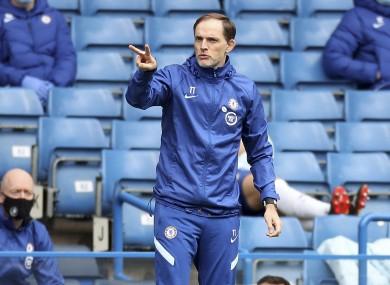 Chelsea boss Thomas Tuchel.