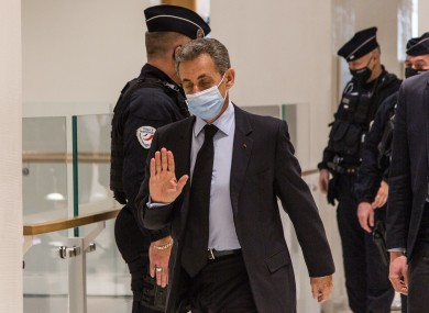 File image of Nicolas Sarkozy.