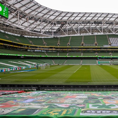 The Aviva Stadium will not play host to any European Championship games this summer, Uefa has confirmed.