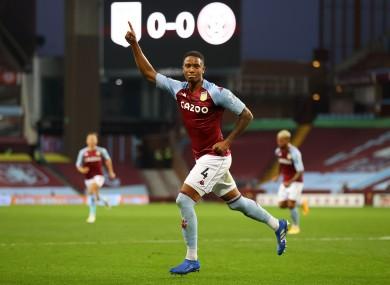 Aston Villa's Ezri Konsa celebrates (file pic).