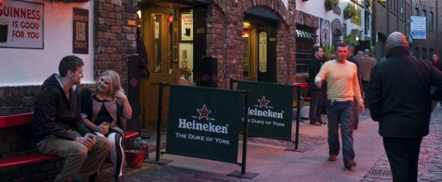 The Duke of York pub in the Cathedral Quarter, Belfast. (File image).