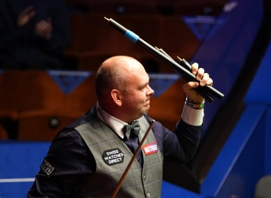 Bingham: 2015 Crucible champion is through to the semi-finals.