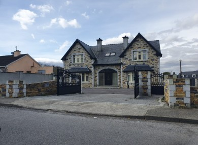 The house in Killarney seized by CAB this morning as part of Operation Tarmac.