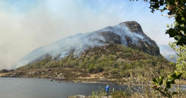 Helicopters monitoring 'hotspots' after fires in Killarney National Park extinguished